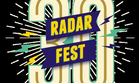 5 golden tickets RadarFest 2019, inclusief workshop inburgering