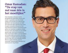 Omar Ramadan over zijn loopbaan, bezoek aan het Witte Huis en meer…