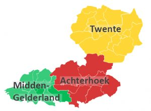 arbeidsmarktregio Oost-Nederland
