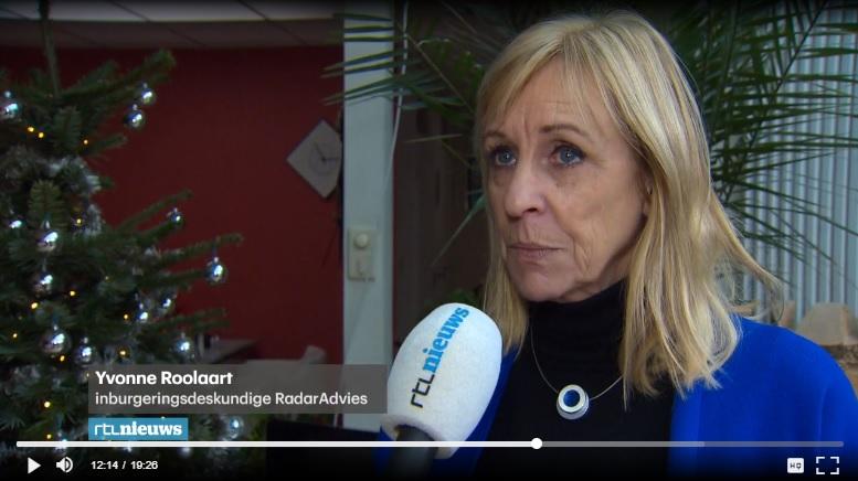 Yvonne Roolaart in RTL Nieuws